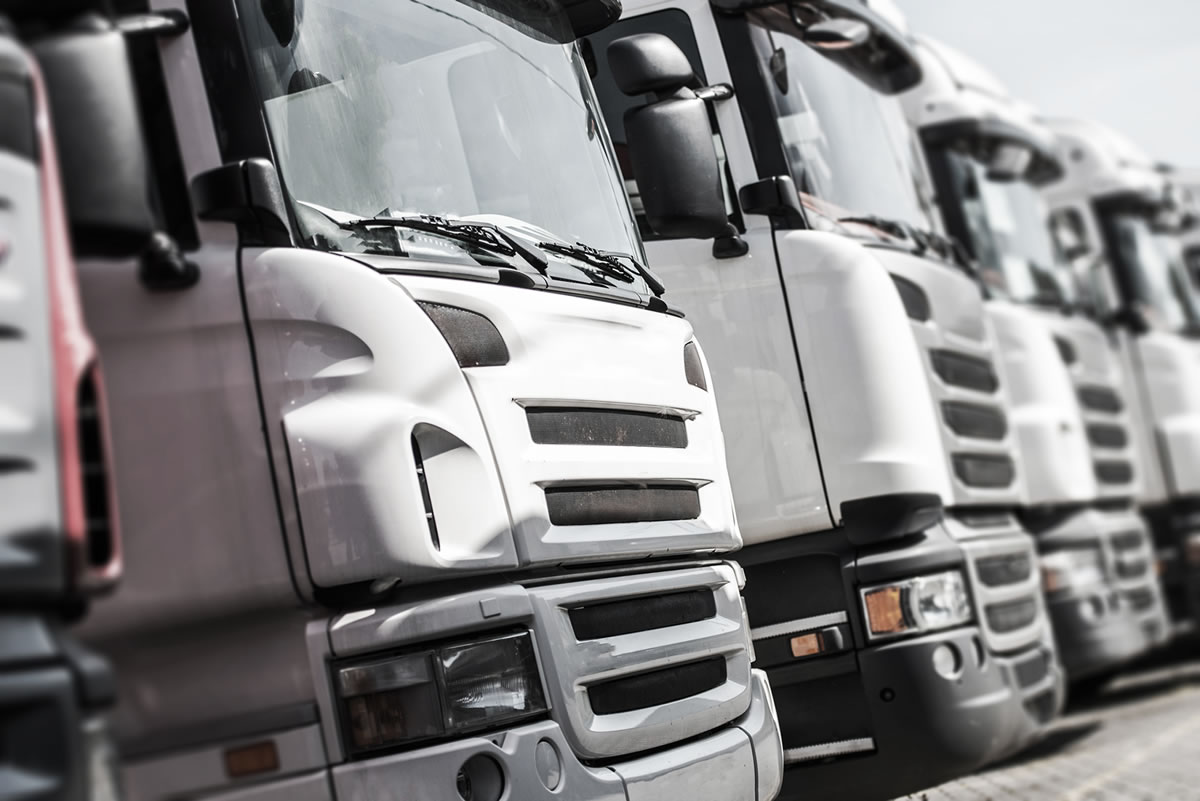 Fleet Management Services Stock Image